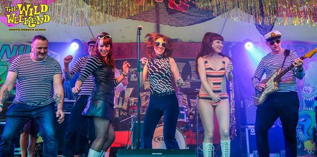 Stripey Stage Invasion