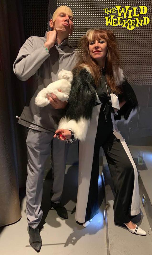 Dr Evil & Cruella