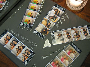 Bakersfield photo booth scrapbook