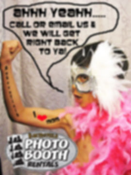 Contact this stud at Bakersfield Photo Booth Rentals. Call us to book your event 661-846-2822.