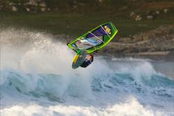 Windsurfer at Tiree