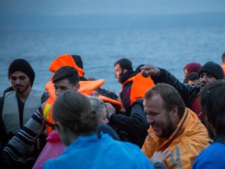 Impactando refugiados na Grécia