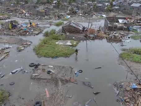 Ciclone no Moçambique