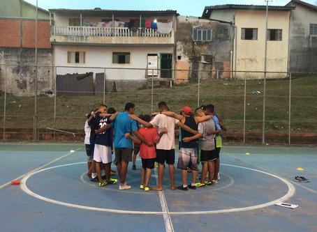 Projeto Ágape: Jesus + futebol
