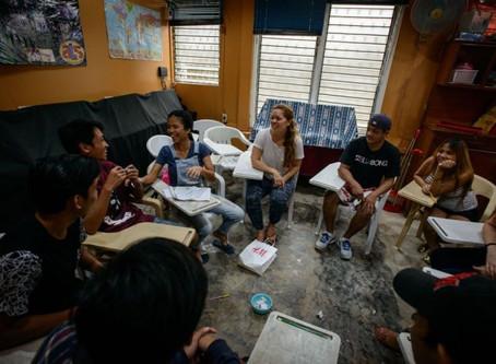 Impactando jovens filipinos
