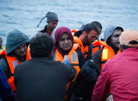 Impactando refugiados na Grécia (julho)
