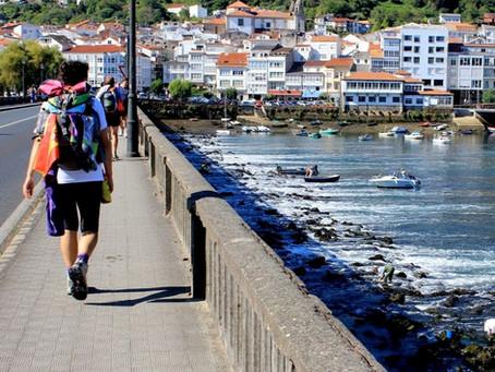 Servindo em La Coruña, Espanha