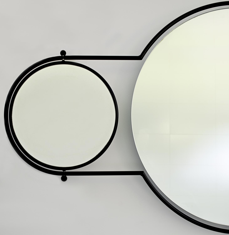 Orbit Mirror Black Frame - 4