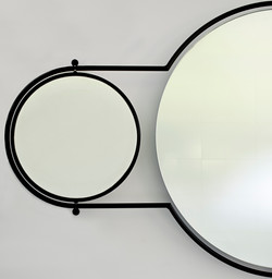 Orbit Mirror Black Frame - 4