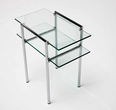 Vienna Two Tier Table