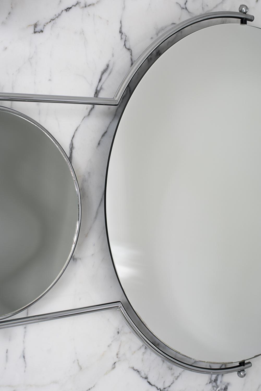 Orbit Mirror Chrome Frame - 3