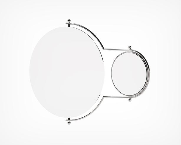 Orbit Mirror-Chrome Angle