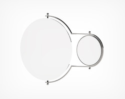 Orbit Mirror-Chrome Angle
