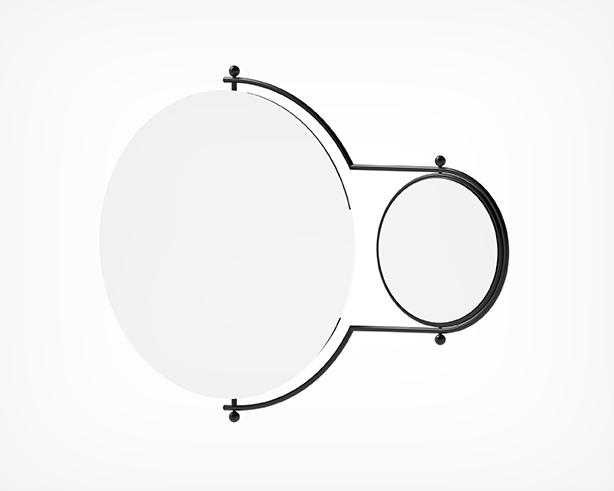 Orbit Mirror-Black Angle