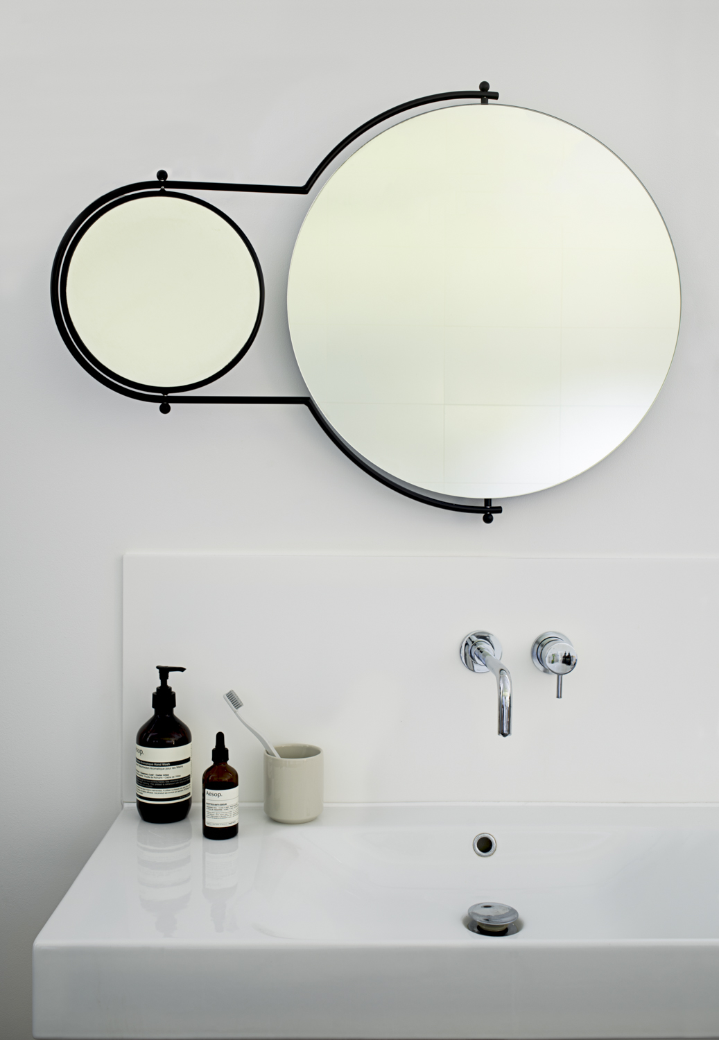 Orbit Mirror Black Frame - 3