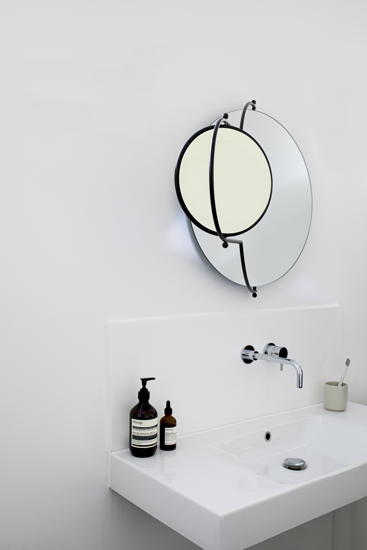 Orbit Mirror Black Frame - 2