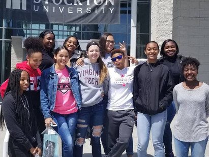 SMD HEAT Varsity Girls visit Stockton University