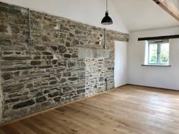 Feature Walls of Exposed Original Stonework