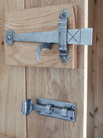 Hand Forged Pewter Door Latches