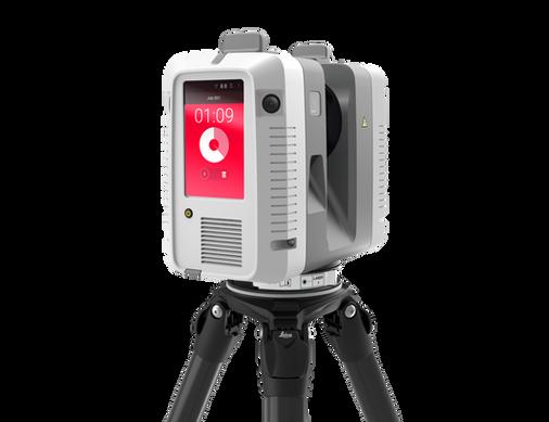 Leica RTC360 - Scan Screen on Tripod - R