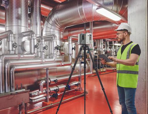 Leica RTC360 Plant Key Visual - Portrait
