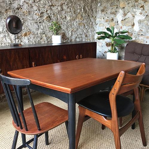 Table style Tapiovaara vintage en teck