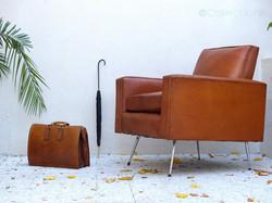 sacoche cuir vintage 2