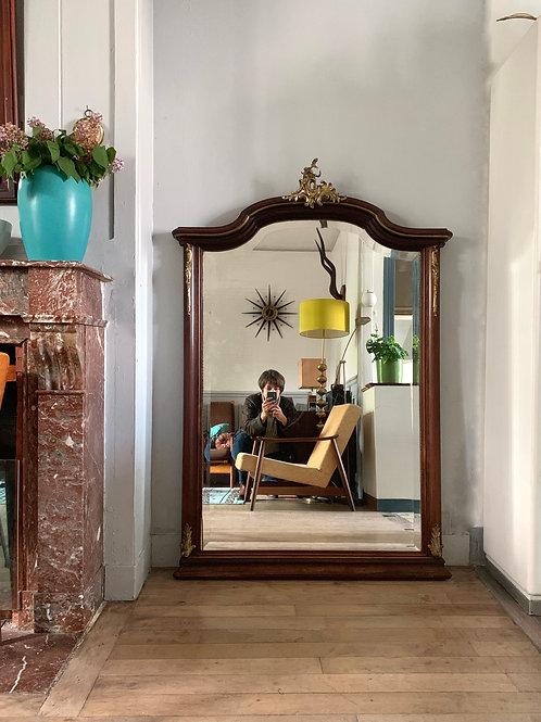 Miroir cheminée trumeau antique