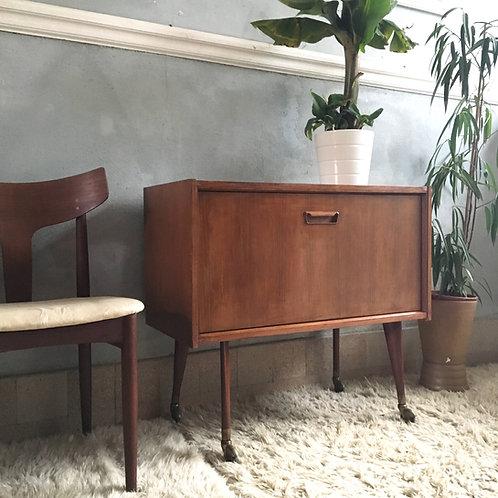 Buffet bar vintage style scandinave en teck