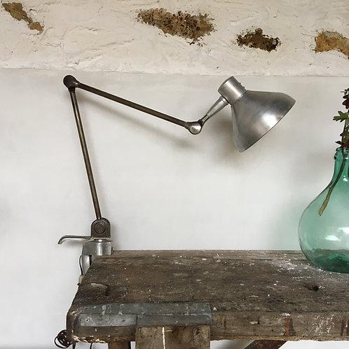 Lampe atelier vintage - lampe industrielle - lampe de bureau articulée vintage-