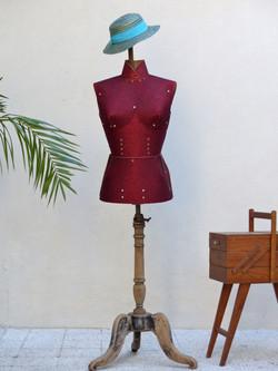 mannequin buste de couture vintage 4