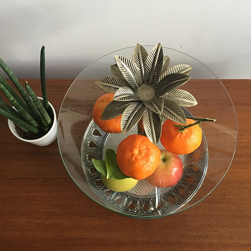 Présentoir forme ananas vintage