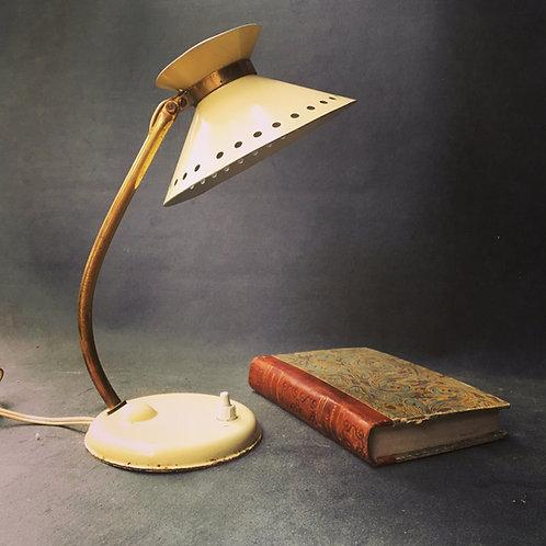 Lampe de bureau diabolo vintage