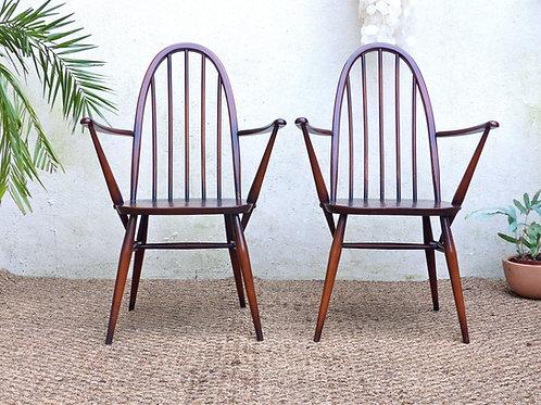 Chaises Ercol vintage - les 2