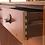Thumbnail: Console commode coiffeuse vintage en teck