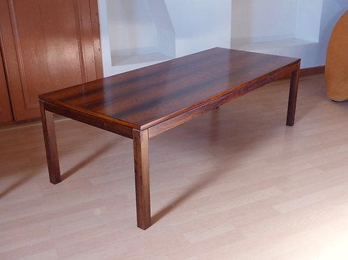 Table basse scandinave palissandre de Rio vintage