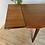 Thumbnail: RÉSERVÉ  - Table scandinave vintage en teck