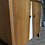 Thumbnail: Buffet vintage en chêne pieds portiques noirs