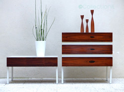 commode meuble tv palissandre scandinave 6