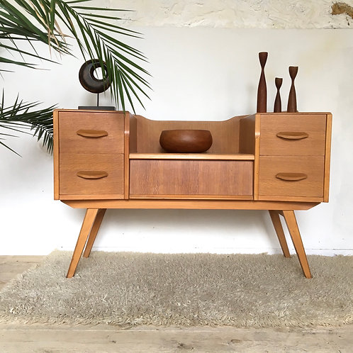 Coiffeuse commode vintage