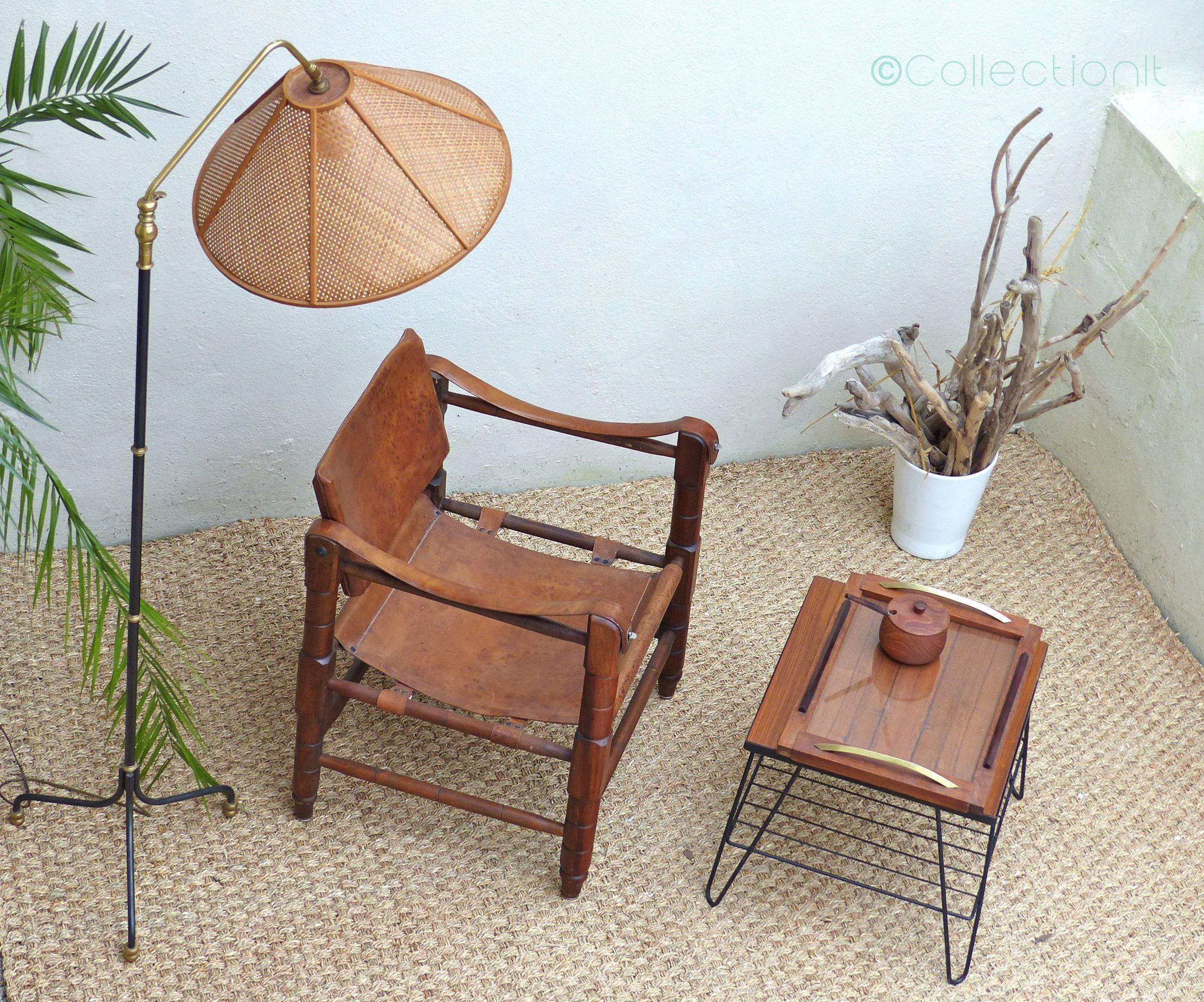 fauteuil safari vintage 2