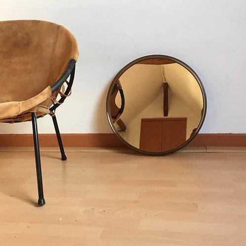 Miroir Gilac vintage - miroir rond vintage