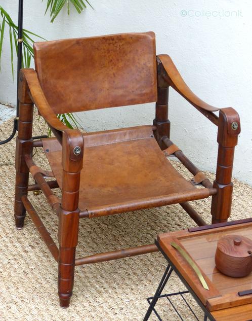 fauteuil safari scandinave collectionit mobilier vintage luminaires scandinave et design