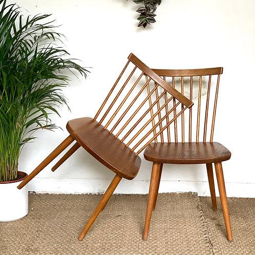 Chaise Scandinave Vintage  à barreaux - 3 disponibles