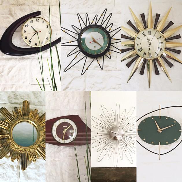 Les horloges...