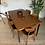 Thumbnail: Table de repas scandinave vintage en teck
