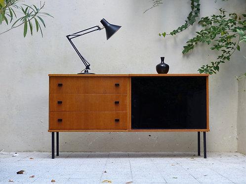 Enfilade vintage moderniste en chêne