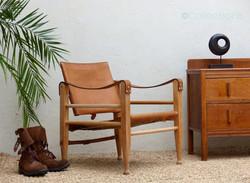 fauteuil safari vintage 1