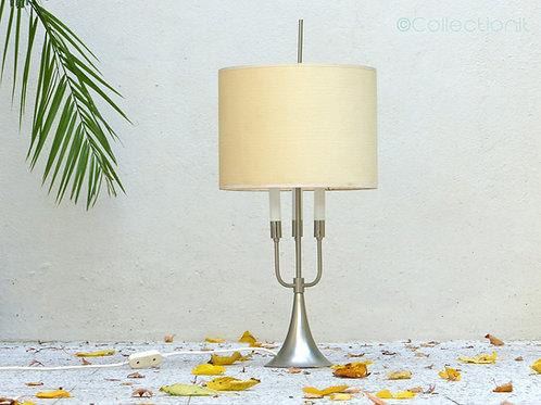 Lampe pied tulipe seventies