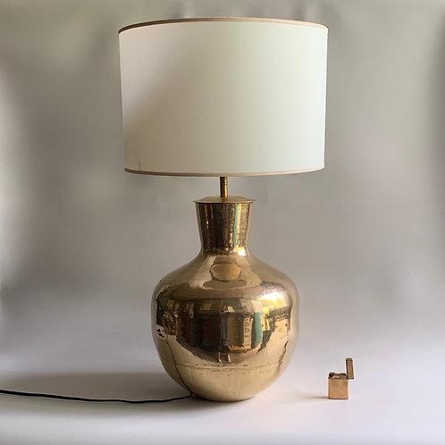 Pied de Lampe en laiton vintage